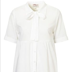 Annie Greenabelle/Topshop Eco Cotton Shirtdress